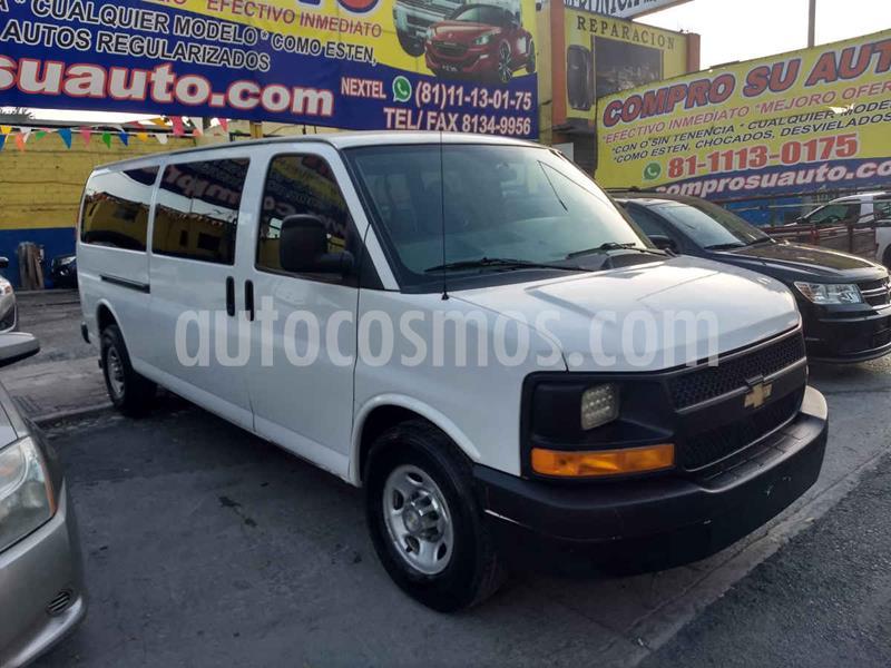Chevrolet Express Passenger Van LS 8 Pas 6.0L usado (2016) color Blanco precio $335,000