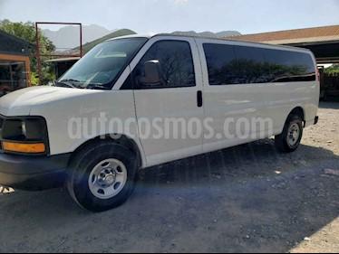 Chevrolet Express Passenger Van Paq C 15 pas (V8) usado (2016) color Blanco precio $399,000