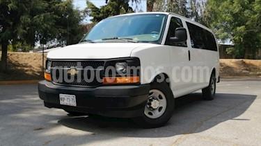 Chevrolet Express 5P LS V8/6.0 AUT 12/PAS usado (2017) color Blanco precio $369,000
