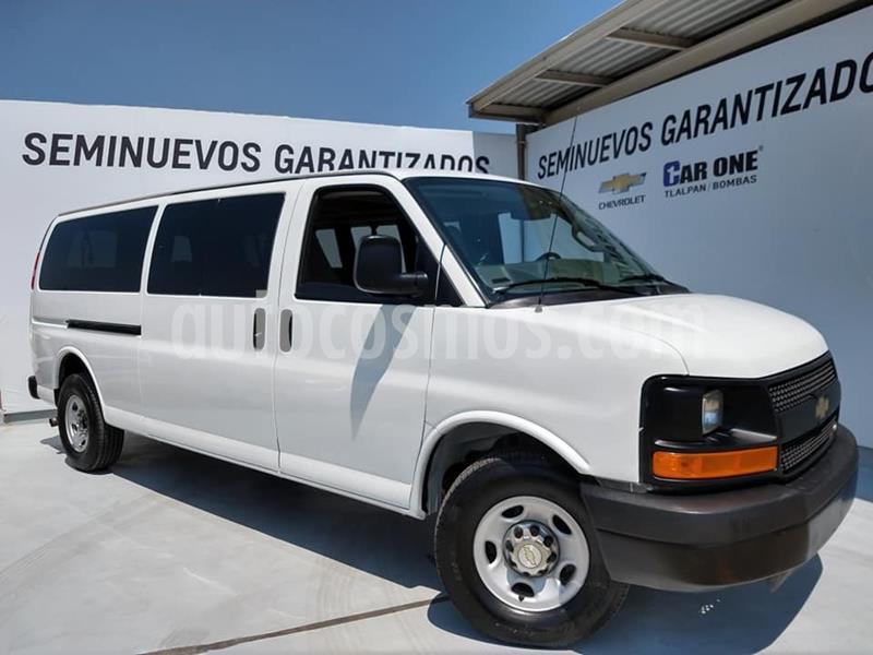 Chevrolet Express Passenger Van Paq C 15 pas (V8) usado (2016) color Blanco precio $310,000