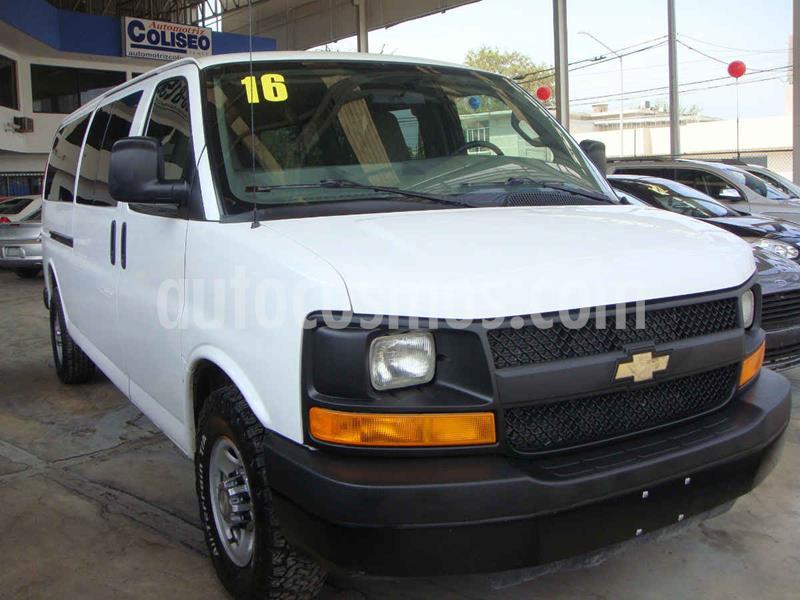 Chevrolet Express Cargo Van LS 6.0L usado (2016) color Blanco precio $415,000