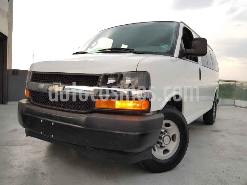 Chevrolet Express Cargo Van LS 4.3L usado (2017) color Blanco precio $349,000