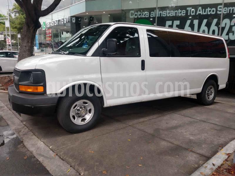 Chevrolet Express Passenger Van Paq C 15 pas (V8) usado (2016) color Blanco precio $349,000