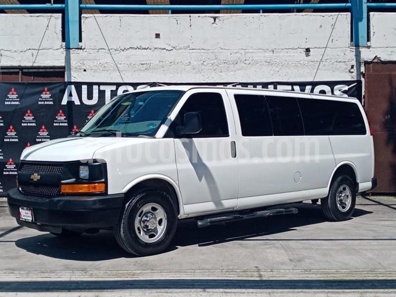 Chevrolet Express Passenger Van Paq C 15 pas (V8) usado (2016) color Blanco precio $359,000