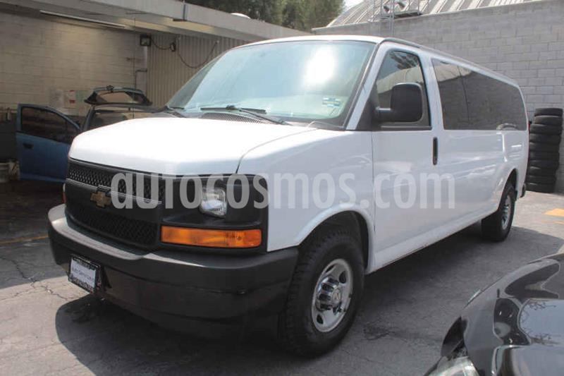 foto Chevrolet Express Cargo Van LS 6.0L usado (2017) color Blanco precio $445,000