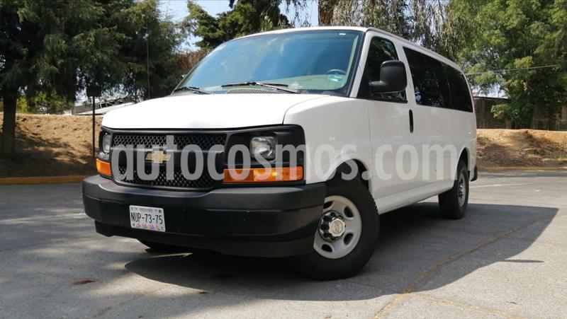 foto Chevrolet Express Cargo Van LS 6.0L usado (2017) color Blanco precio $369,000