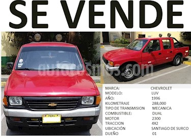 Chevrolet LUV D-MAX C-D 4x2 mecanica usado (1996) color Rojo precio u$s6,800