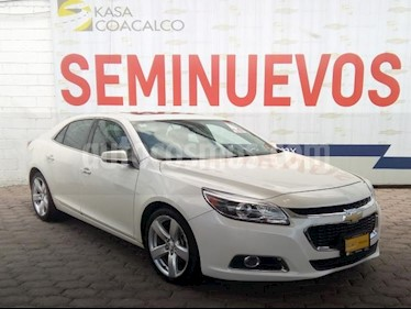 Foto venta Auto usado Chevrolet Malibu 4p LTZ L4/2.0/T Aut (G) (2014) color Blanco precio $239,000