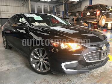 Foto venta Auto usado Chevrolet Malibu 4p Premier L4/2.0/T Aut (2016) color Negro precio $350,000