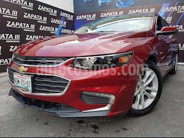 Foto Chevrolet Malibu LT usado (2017) color Rojo Tinto precio $284,900