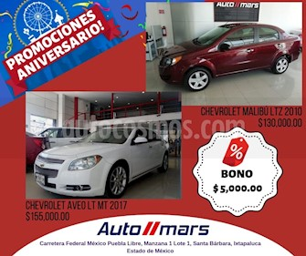 Foto venta Auto usado Chevrolet Malibu LTZ (2010) color Blanco precio $130,000
