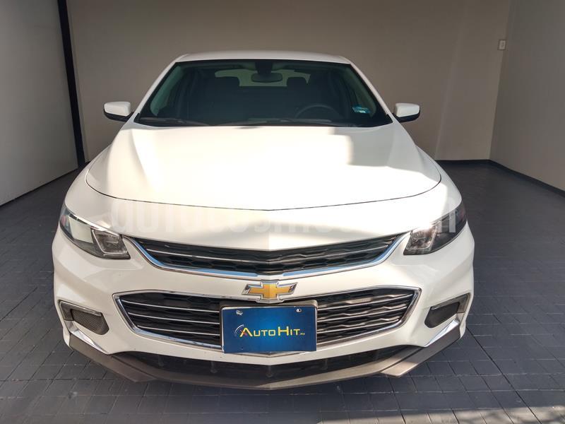 Chevrolet Malibu LT 2.5 Piel usado (2018) color Blanco precio $297,500