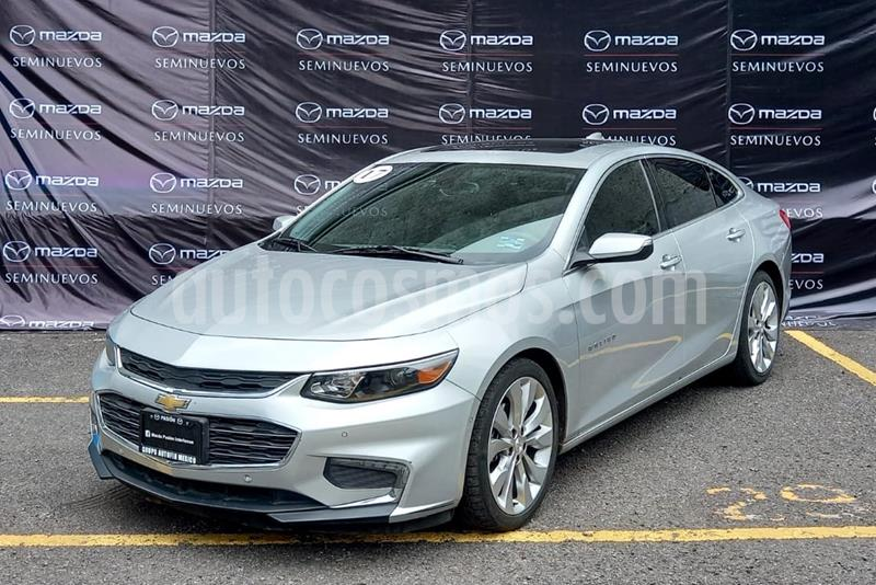 Chevrolet Malibu Premier 2.0 Turbo usado (2017) color Plata Brillante precio $275,000