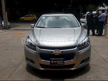 Chevrolet Malibu LT 2.5 Piel usado (2015) color Plata precio $210,000