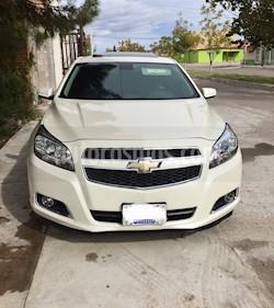 Foto Chevrolet Malibu LT 2.5 Piel usado (2013) color Blanco precio $210,000
