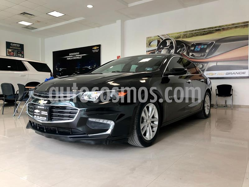 Chevrolet Malibu LT usado (2017) color Negro precio $270,000