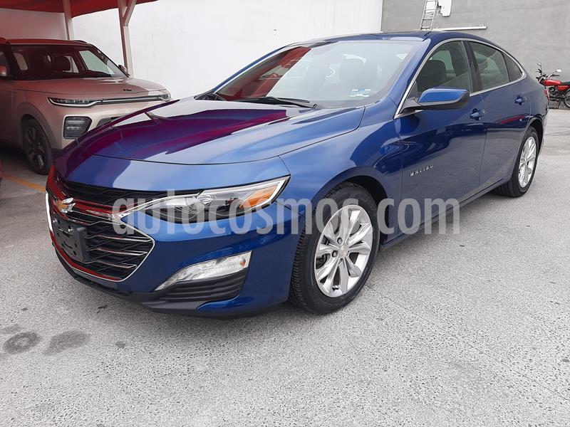 Chevrolet Malibu LT 2.5 Piel usado (2019) color Azul precio $340,000