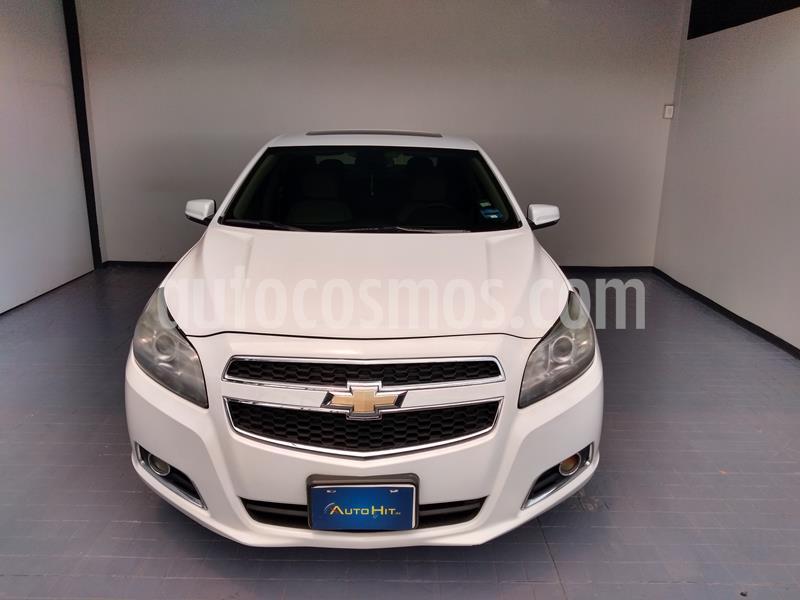 Chevrolet Malibu LT 2.5 Piel usado (2013) color Blanco precio $184,500