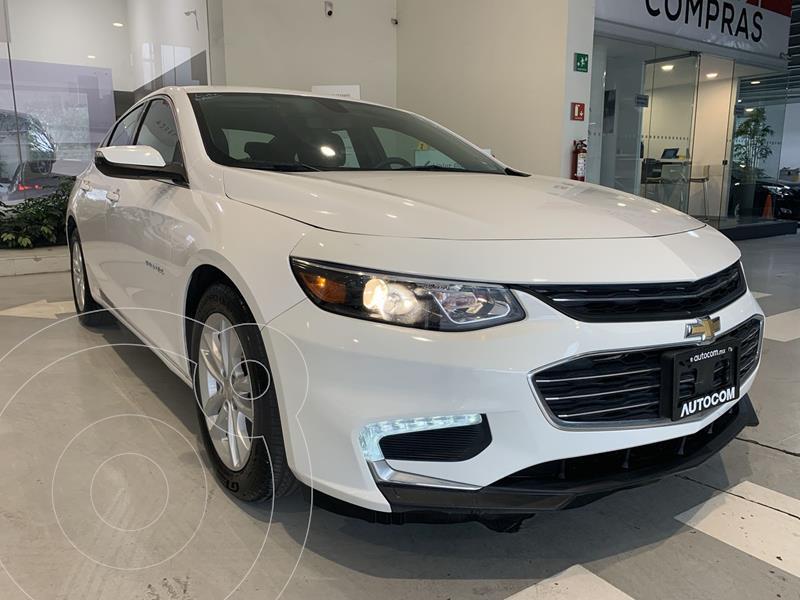 Foto Chevrolet Malibu 3.5L LT Paq F  usado (2018) color Blanco precio $274,000