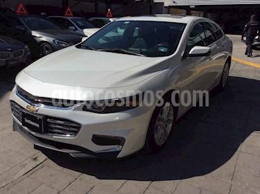 Chevrolet Malibu LT 1.5 Turbo Piel usado (2018) color Blanco precio $350,000