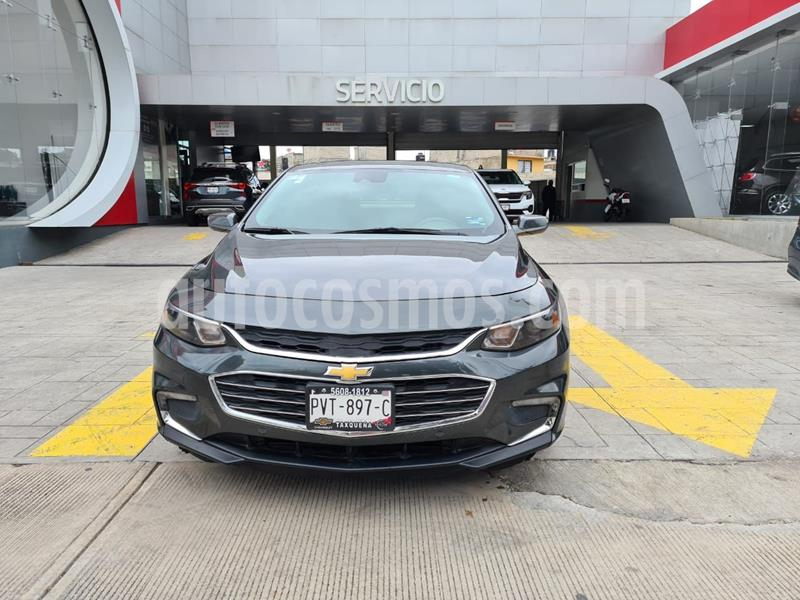 Chevrolet Malibu Premier 2.0 Turbo usado (2017) color Gris precio $299,000