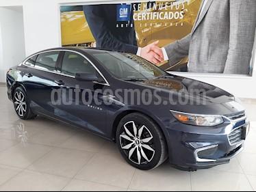 Chevrolet Malibu LT 2.5 Piel usado (2016) color Azul precio $332,900