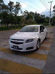 Foto Chevrolet Malibu LT 2.5 Tela usado (2013) color Blanco precio $170,000
