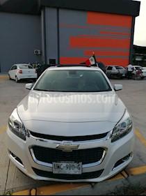 Chevrolet Malibu LT 2.5 Piel usado (2015) color Blanco Diamante precio $215,000