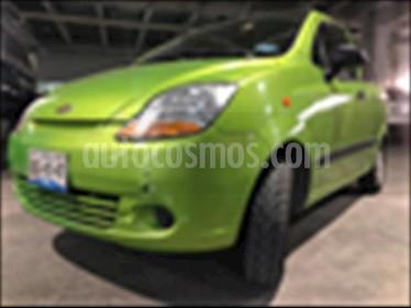 Foto venta Auto usado Chevrolet Matiz LS (2015) color Verde precio $87,000