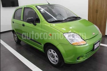 Foto venta Auto usado Chevrolet Matiz LS (2014) color Verde precio $85,000