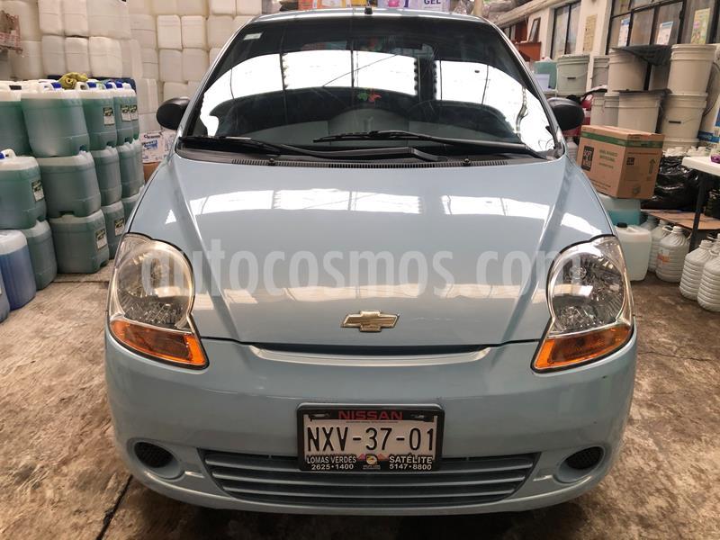 Chevrolet Matiz LS Plus usado (2014) color Azul Claro precio $80,000