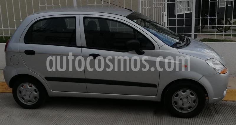 Chevrolet Matiz Paq B usado (2014) color Plata precio $65,000
