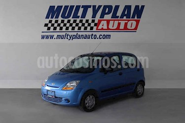 Chevrolet Matiz LS usado (2014) color Azul precio $86,000