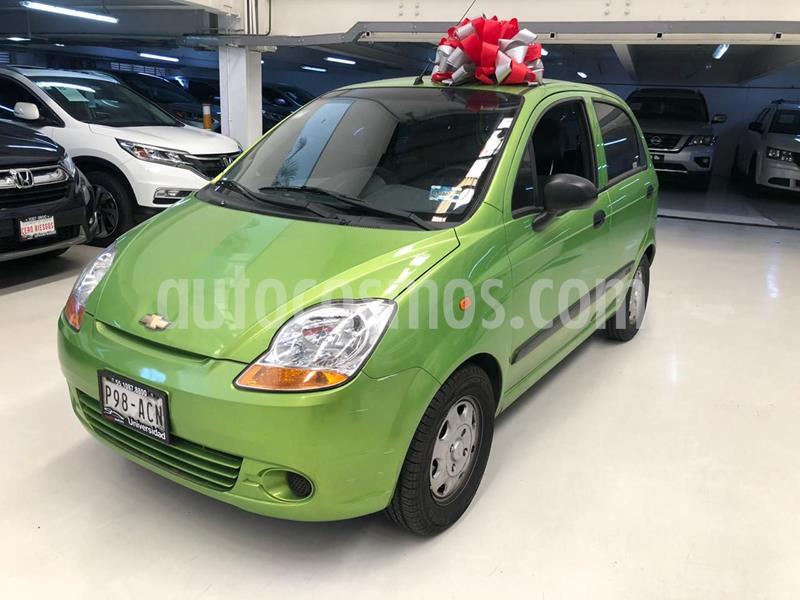 Chevrolet Matiz LS usado (2015) color Verde Lima precio $99,100