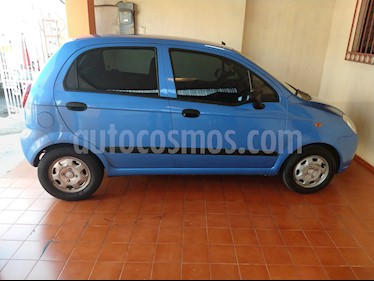 Chevrolet Matiz Paq A usado (2014) color Azul precio $78,000
