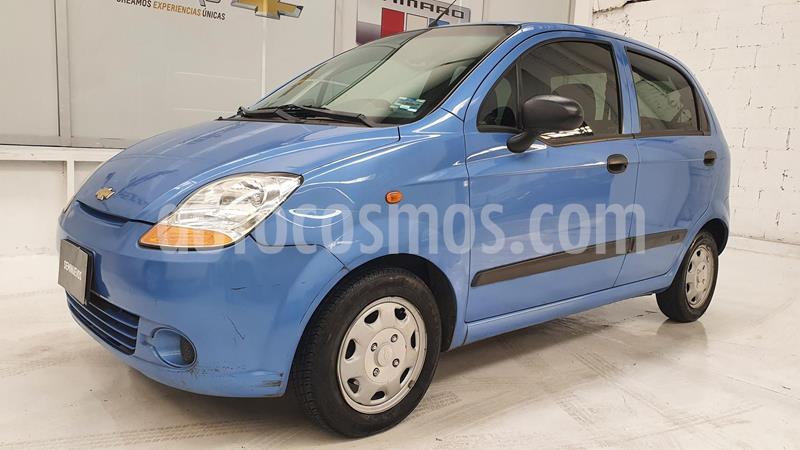 Chevrolet Matiz Paq B usado (2014) color Azul precio $88,000
