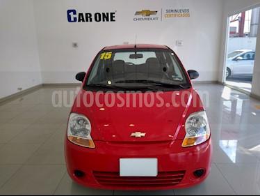 Chevrolet Matiz Paq B usado (2015) color Rojo precio $82,900