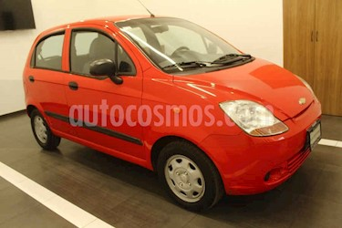 Chevrolet Matiz 5p LS L4/1.0 Man A/A usado (2015) color Rojo precio $99,000