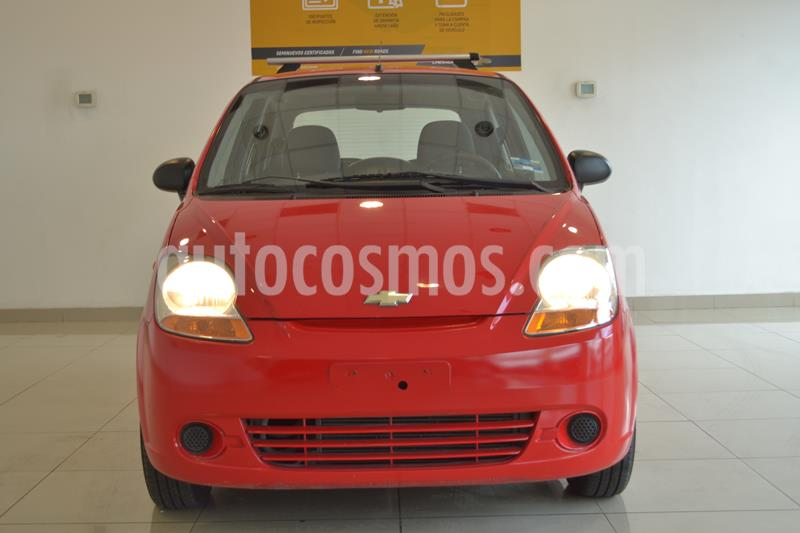 Chevrolet Matiz Paq B usado (2015) color Rojo precio $80,000