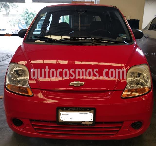 Chevrolet Matiz Paq A usado (2014) color Rojo precio $75,000