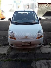 Foto venta Auto usado Chevrolet Matiz Paq B (2014) color Blanco precio $65,000