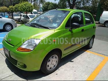 Foto venta Auto usado Chevrolet Matiz Paq B (2014) color Verde precio $89,000