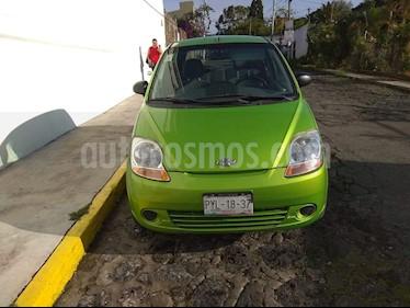Chevrolet Matiz Paq B usado (2014) color Verde Citrus precio $70,000