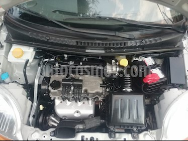 Chevrolet Matiz Paq B usado (2015) color Plata precio $87,500