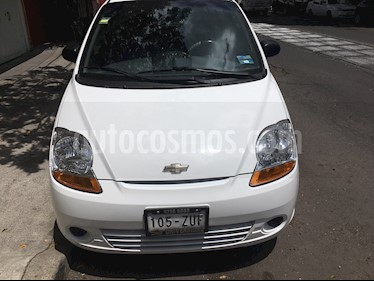 Foto venta Auto usado Chevrolet Matiz Paq B (2014) color Blanco precio $85,000
