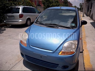 Foto venta Auto usado Chevrolet Matiz Paq B (2014) color Azul Zafiro precio $51,000