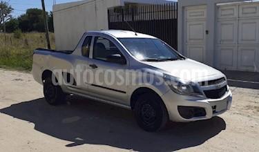 Chevrolet Montana LS Pack usado (2014) color Plata precio $390.000