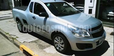 Foto venta Auto usado Chevrolet Montana LS Ac Dir (2012) color Gris Claro precio $125.000
