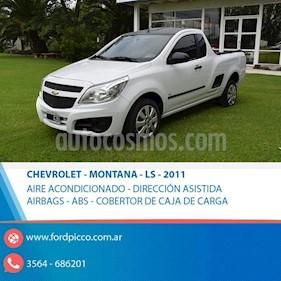 Foto venta Auto usado Chevrolet Montana LS Plus (2011) color Blanco precio $245.000