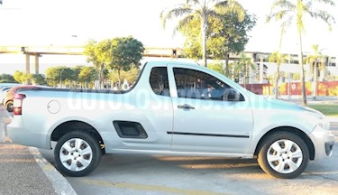 Foto venta Auto usado Chevrolet Montana LS Plus (2012) color Gris Plata  precio $210.000
